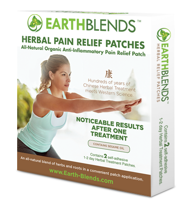 EarthBlends™ Herbal Pain Relief Patches